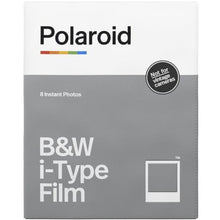 Load image into Gallery viewer, Polaroid Originals Black & White i-Type Instant Film (8 Exposures)