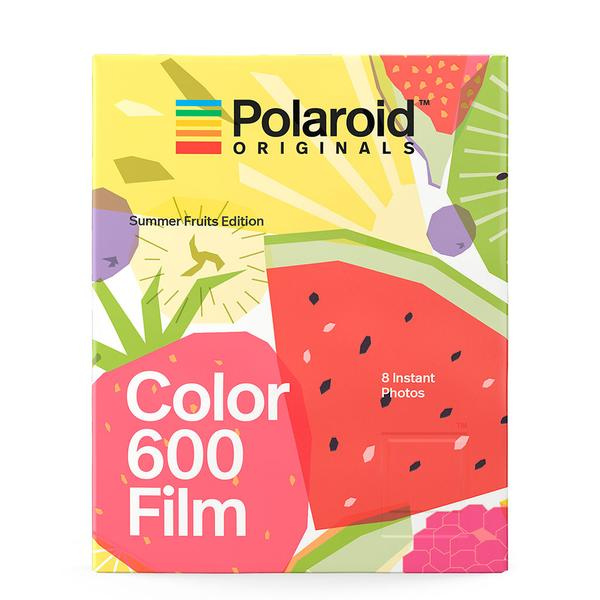 [Limited Stock] Polaroid Originals Color Instant Film for 600-Summer Fruits Edition (8 Exposures)