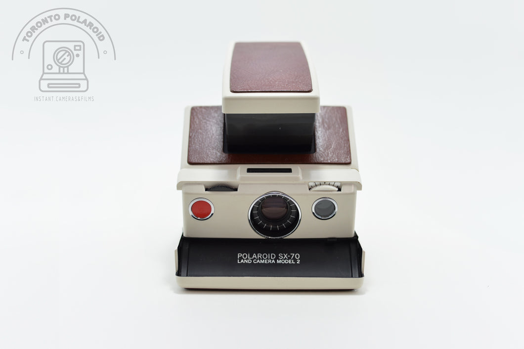 Polaroid SX70 model 2 white