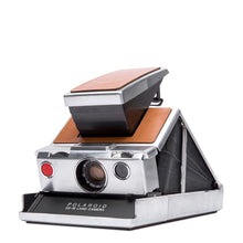 Load image into Gallery viewer, Polaroid SX-70 Camera - Silver-Brown (New In Box, Refurbished by Polaroid Originals)