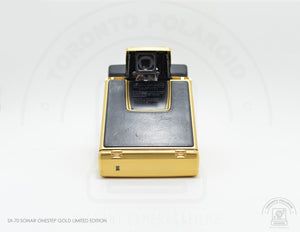 Polaroid SX-70 Sonar One Step Gold