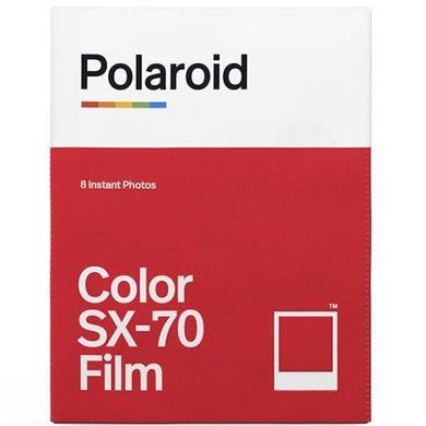 Polaroid Color SX-70 Instant Film (8 Exposures)