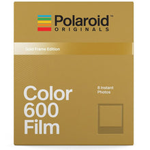 Load image into Gallery viewer, [Limited Stock/ Discontinuous] Polaroid Colour Film For 600 Gold Frame Edition Instant Film (8 Exposures)