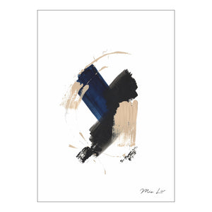 True Blue II print