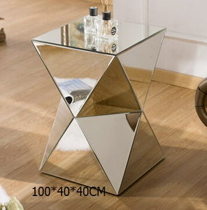 Karolyn Mirror Angle  Side Table