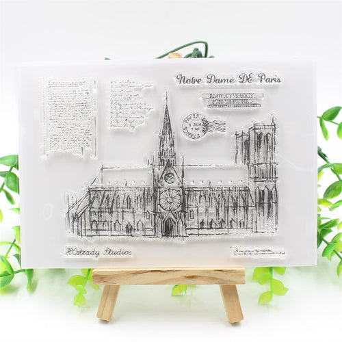 Paris Clear Silicone Stamp
