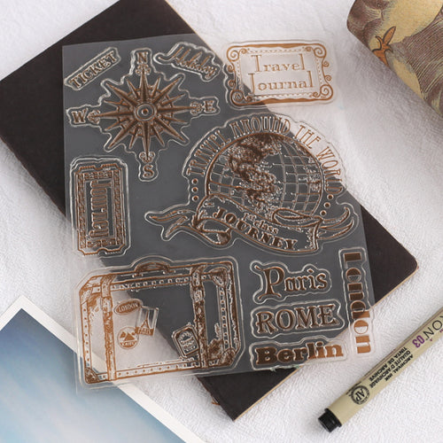 Vintage Paris Stamps