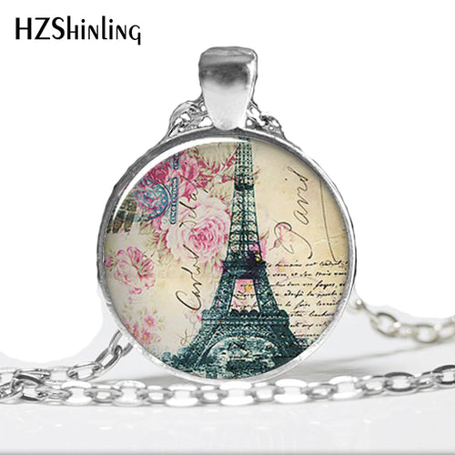 Springtime in Paris necklace