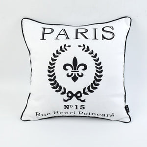 Paris Pillow Cover