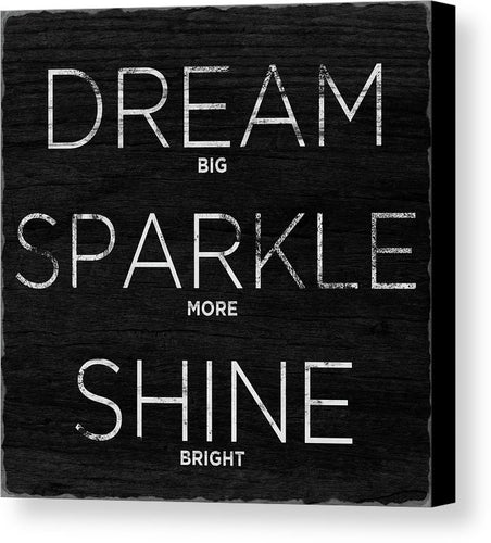 Dream, Sparkle, Shine Decorative Wall Art