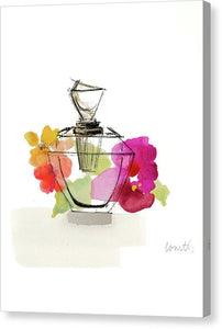 Watercolor Perfume II Canvas Print