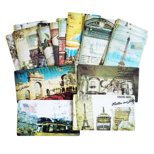 20 Pcs/pack Vintage Styled Paris Postcards