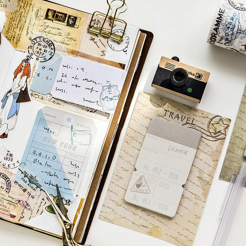 Paris Travel Memo Pad