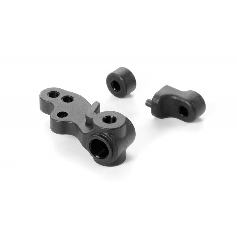 XRAY - Composite Steering Block - 3-Hole & Backstops - 372213