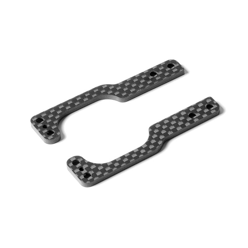 XRAY - Graphite Rear Wing Holder Side Plate 2.5Mm (L+R) - 373524