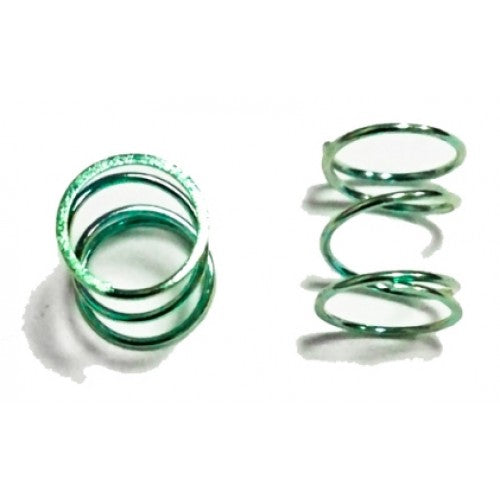 Awesomatix - A12-SPR12F-C1.3 Front Spring x 2 Color Green