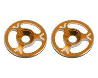 Avid RC Triad Wing Mount Buttons (2) (Orange)