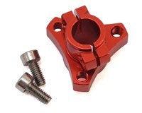 CRC - 1/12 Double Clamp Left Hub-Red (CLN3331)
