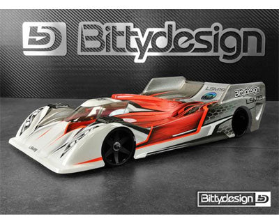 BDY12-LSM19ULT - Bittydesign LSM19 1/12 On-Road Body (Clear) (Ultra Light)