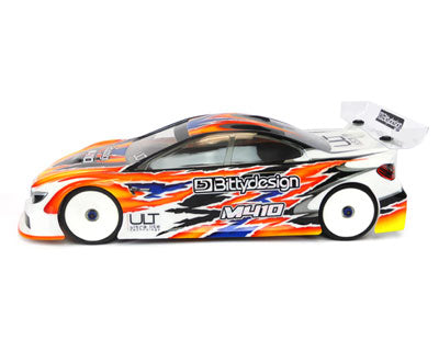 Bittydesign M410 ULT 1/10 Touring Car Body (Clear) (Ultra Light Weight) - BDYTC-M410ULT