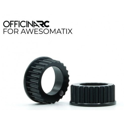 OfficinaRC - Alu Bearing Housing for Awesomatix A800 (2) - OFC-BH