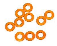 XRAY T4 2017 3x6x0.5mm Aluminum Shim (Orange) (10) - XRA303121-O
