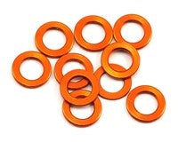 XRAY 3x5x0.5mm Aluminum Shim (Orange) (10) - 303142-O