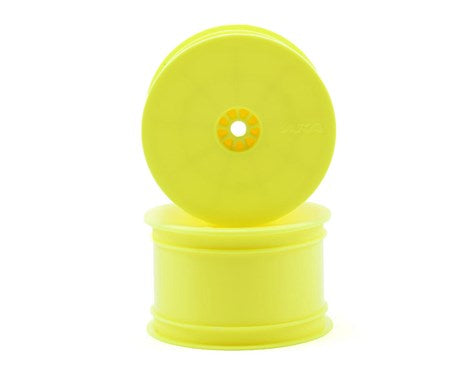 "AKA 12mm Hex ""HEXlite"" 2.2 Rear Wheels (2) (B6/22/RB6/ZX6) (Yellow) - AKA23101Y"