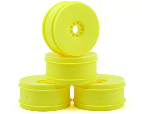 AKA EVO 1/8th Off Road Wheels (4) (Yellow) - AKA24003Y