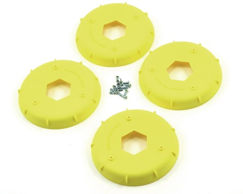 AKA EVO 1/8th Wheel Stiffener (Yellow) (4) - AKA34003Y