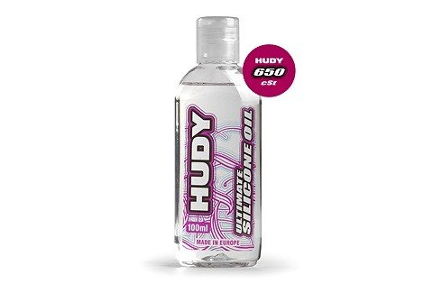 HUDY ULTIMATE SILICONE OIL 650  cSt 100ml - 106366