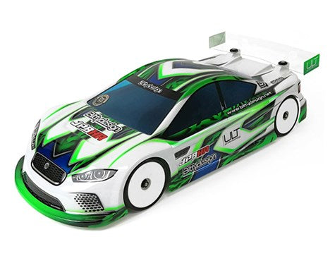 Bittydesign JP8HR ULT 1/10 Touring Car Body (Clear) (190mm) (Ultra Lite Weight) - BDYTC-HRULT