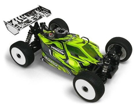 "Bittydesign ""Vision"" XRAY XB8 2020 Pre-Cut 1/8 Buggy Body (Clear)"