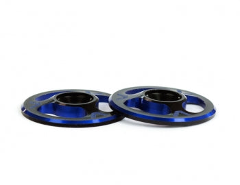 Avid RC Triad Wing Mount Buttons (2) (Dual Black/Blue)