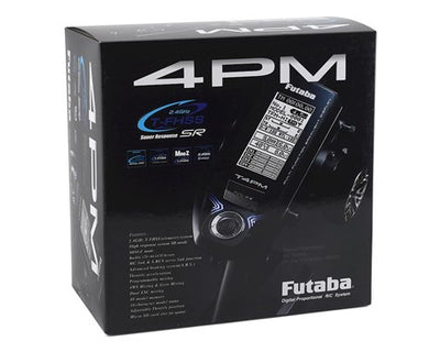 Futaba 4PM 4-Channel 2.4GHz T-FHSS Radio System w/R304SB Receiver
