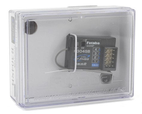 Futaba R304SB T-FHSS 4-Channel Telemetry Enabled 2.4GHz Receiver