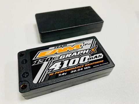 TEAM EAM 4100MAH 2S - 130C ULCG GRAPH-X FORMULA BATTERY - SHORTY LIPO