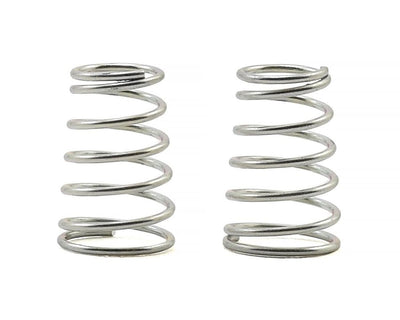 Schumacher Atom/Eclipse Rear Shock Springs (2) (Silver - Med/Soft) - U4839