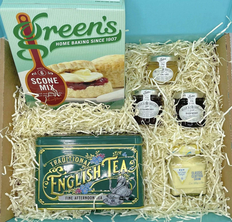 Afternoon Tea Gift Set Hamper Box