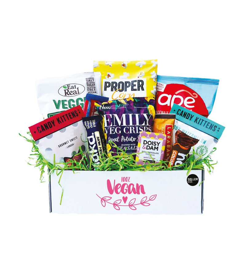 100% Vegan Treats Snack Box! The Perfect Vegan Gift Hamper