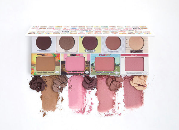 The Balm In The Balm Of Your Hand Vol.2 Full Face Palette - Eyeshadow, Highlighter, Blush, Bronzer-Makeup-The Balm-Mason Pearl Beauty