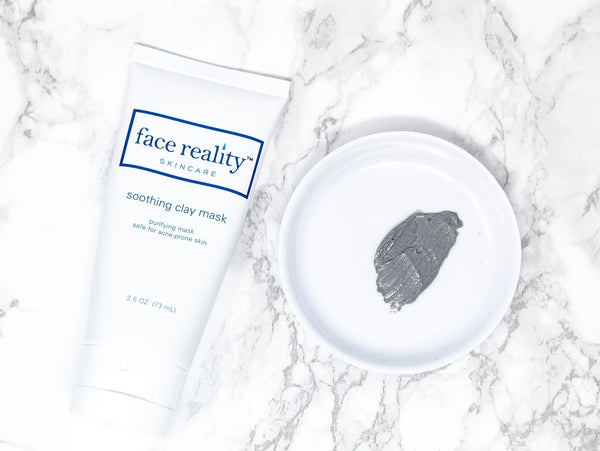 Face Reality Soothing Clay Face Mask-Face Mask-Face Reality Skincare-Mason Pearl Beauty