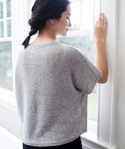 Sideways Tee Using Shibui Reed