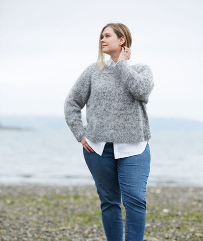 Easy Relaxed Pullover Pattern