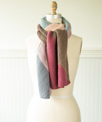 Mentolat Scarf Kit Using Manos Silk Blend
