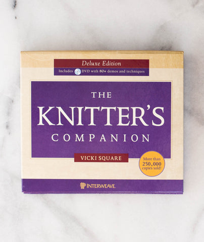 The Knitter's Companion by Vicki Square