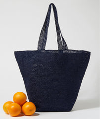 Bad Romance Bag Using Wool and the Gang Ra Ra Raffia