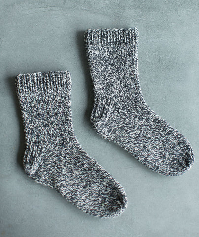 Basic Socks Using Brooklyn Tweed Shelter