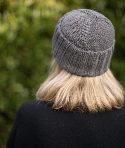 Boyfriend Watch Cap Using Woolfolk Tov