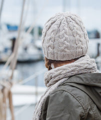 Fair Winds Beanie & Scarf - Ultra Alpaca Version